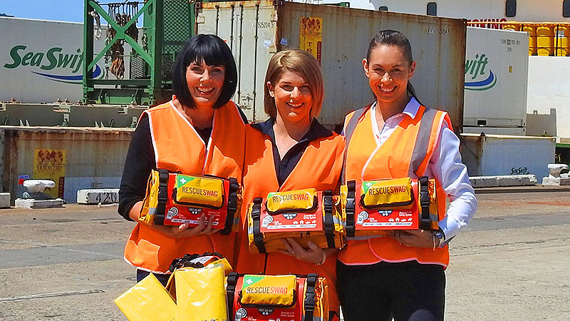 Media Release - Sea Swift helps out in PNG humanitarian effort
